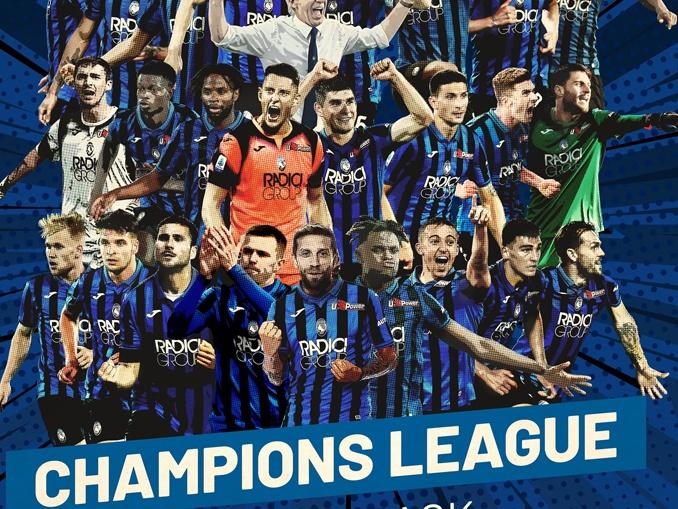 Títulos da Atalanta - títulos champions league