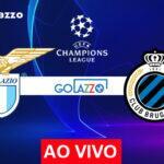 Veja onde assistir Lazio x Club Brugge AO VIVO pela Champions League; escalações