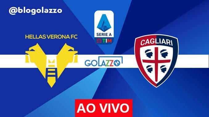 assistir hellas verona x cagliari ao vivo pelo campeonato italiano