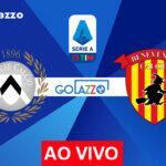 Onde assistir Udinese x Benevento AO VIVO pelo campeonato italiano; escalações