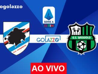 onde assistir sampdoria x sassuolo ao vivo pelo campeonato italiano
