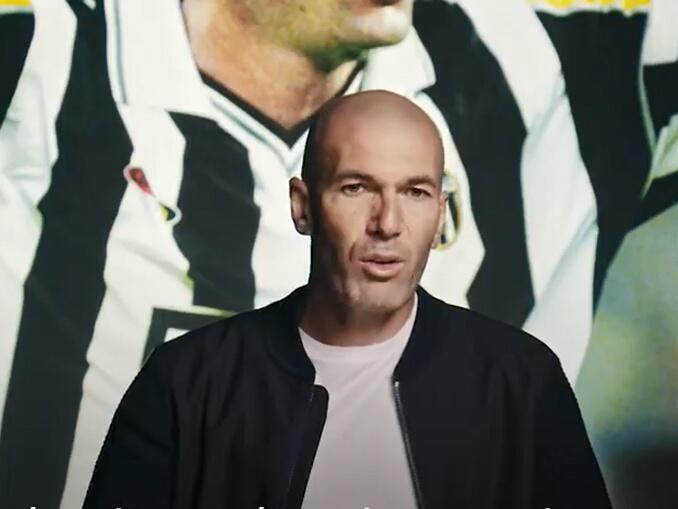 Maiores jogadores da Juventus - Zidane