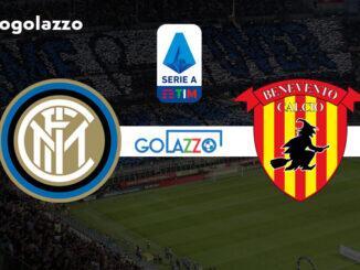 assistir inter x benevento pelo campeonato italiano