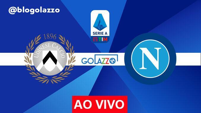 assistir udinese x napoli ao vivo pelo campeonato italiano
