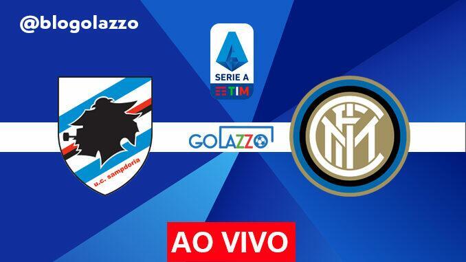 onde assistir sampdoria x inter ao vivo pelo campeonato italiano