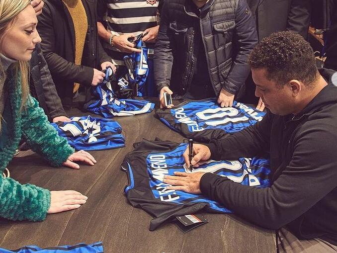 Maiores jogadores da Inter - Ronaldo Fenômeno
