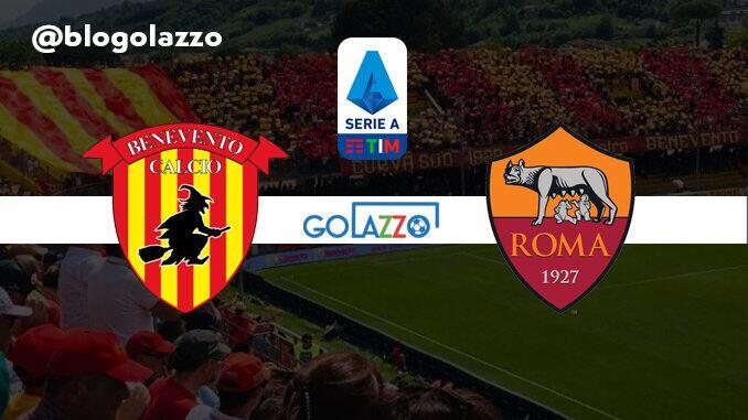 assistir benevento x roma ao vivo campeonato italiano