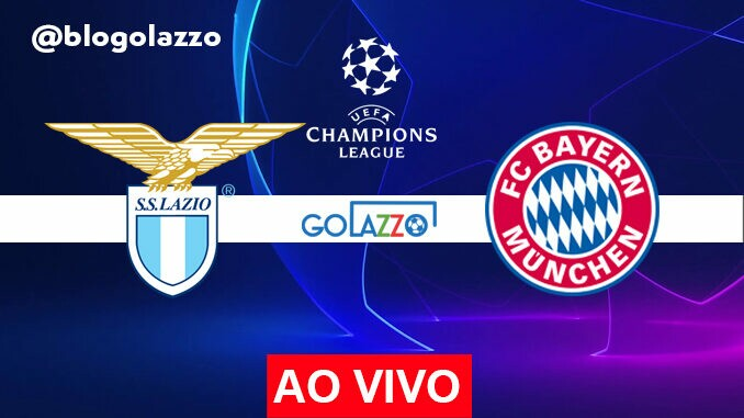assistir lazio x bayern ao vivo champions league
