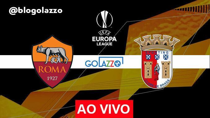 assistir roma x braga ao vivo europa league