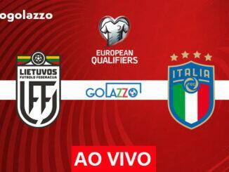 assistir lituânia x itália ao vivo eliminatórias copa do mundo