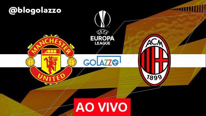 assistir manchester united x milan ao vivo europa league