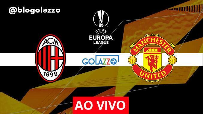 assistir milan x manchester united ao vivo europa league