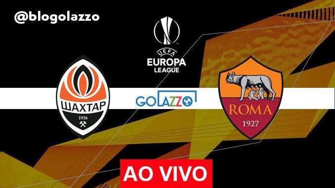 assistir shakhtar x roma ao vivo europa league