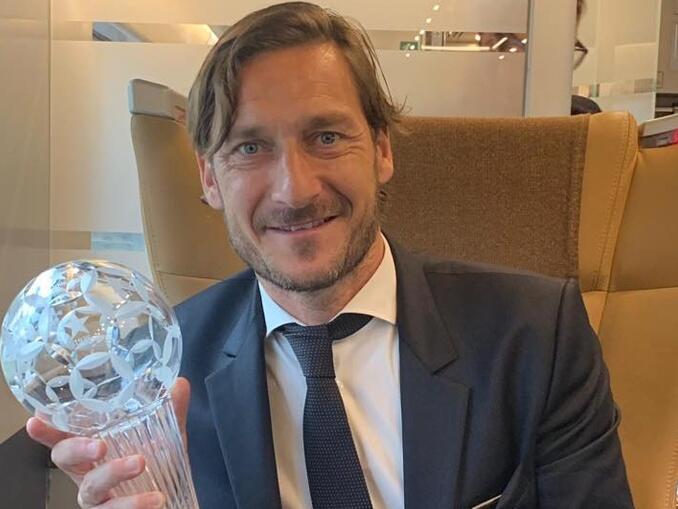 maiores artilheiros do campeonato italiano - Francesco Totti