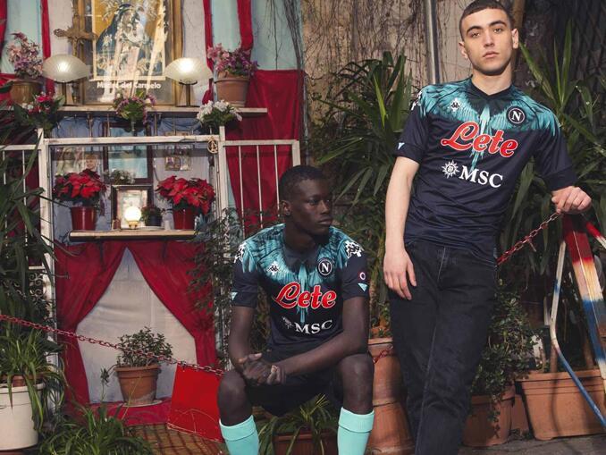 Nova camisa do Napoli - Marcelo Burlon
