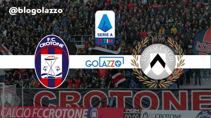 assistir crotone x udinese ao vivo campeonato italiano