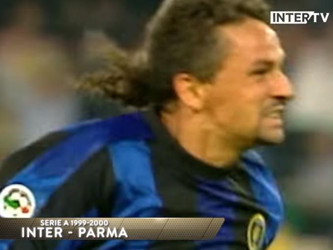 Derby D'Italia - Jogadores Inter e Juve - Roberto Baggio