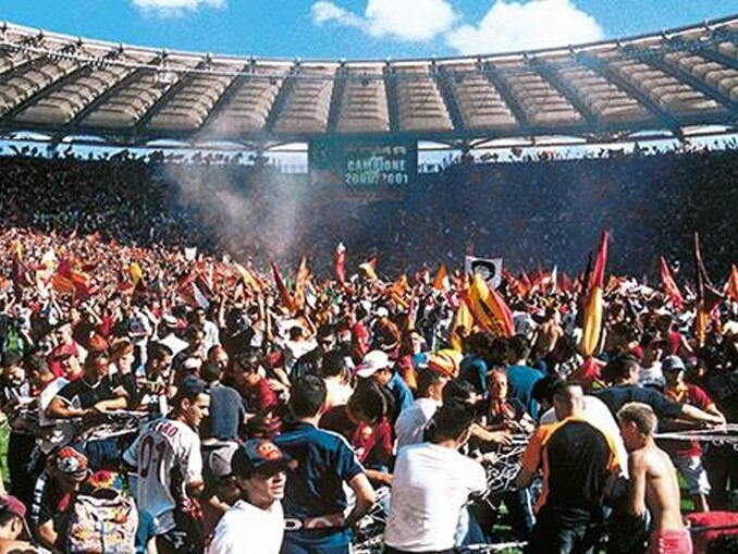 Derby Della Capitale - Roma e Lazio - scudetto 2000-2001