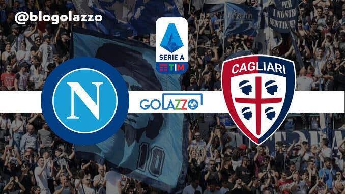 Guarda in diretta la partita di Napoli e Cagliari, il campionato italiano