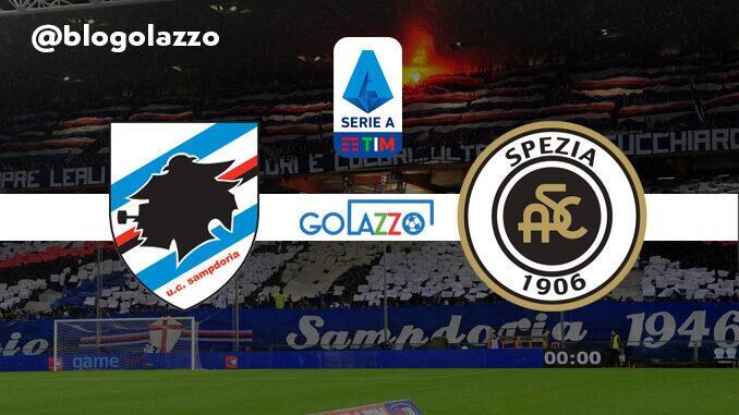 assistir sampdoria spezia ao vivo campeonato italiano