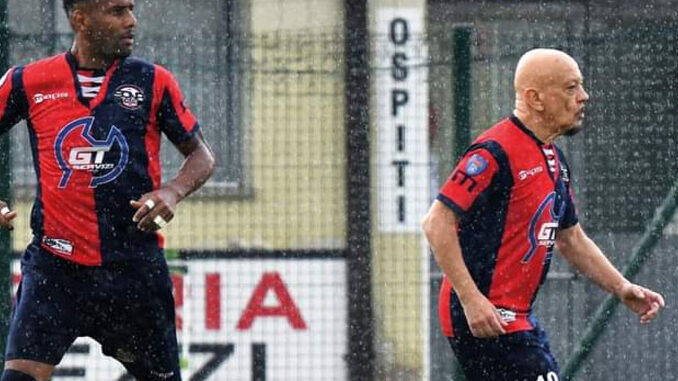 Jogador de 64 anos Serie D campeonato italiano