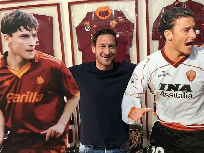 Maiores jogadores da Roma - Francesco Totti