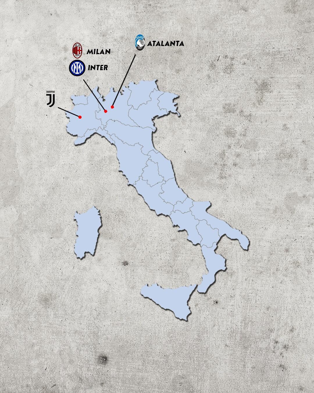 Rivalidades do campeonato italiano - rivais da Inter