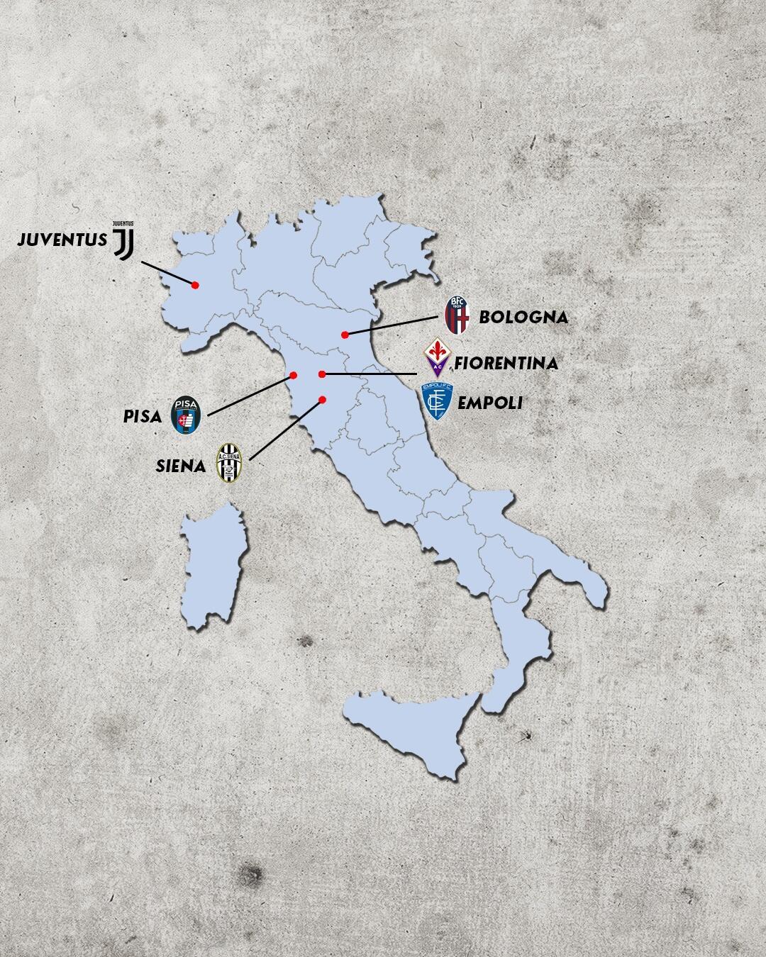 Rivalidades do campeonato italiano - rivais da fiorentina