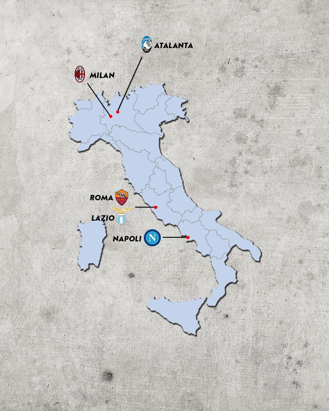 Rivalidades do campeonato italiano - rivais da lazio