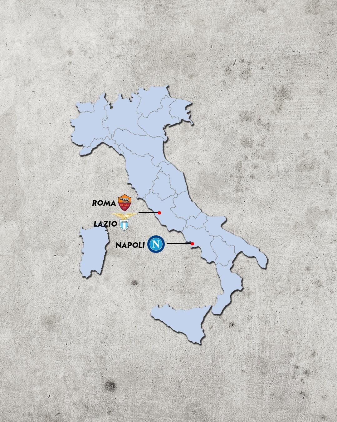 Rivalidades do campeonato italiano - rivais da roma