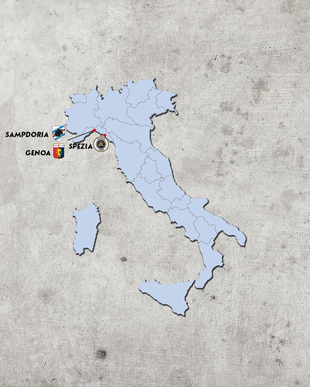 rivalidades do campeonato italiano - rivais do genoa