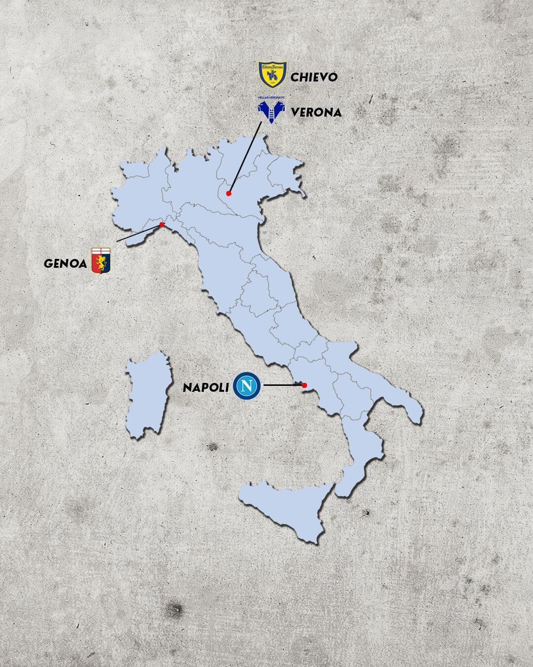 rivalidades do campeonato italiano - rivais do hellas verona