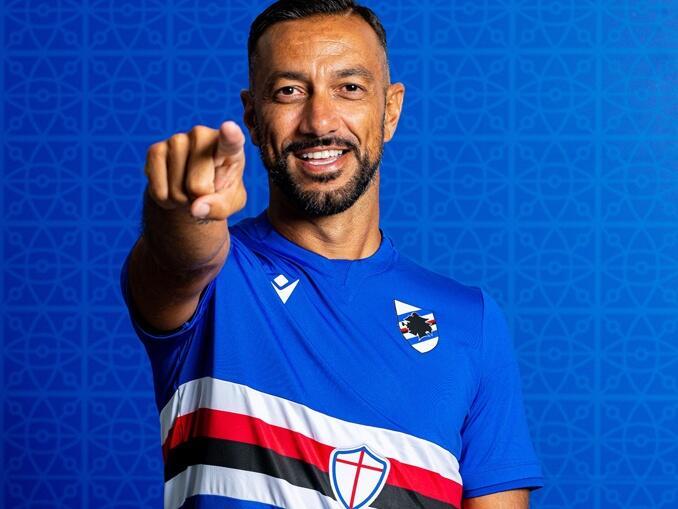 Camisa Sampdoria -- 2021-2022