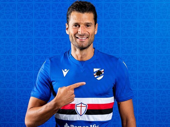 Camisa Sampdoria ----- 2021-2022