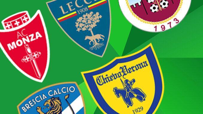 Times do campeonato italiano serie b 2021-2022