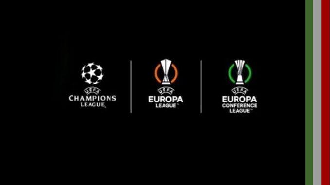 quantos times italianos vão para champions league europa league conference league