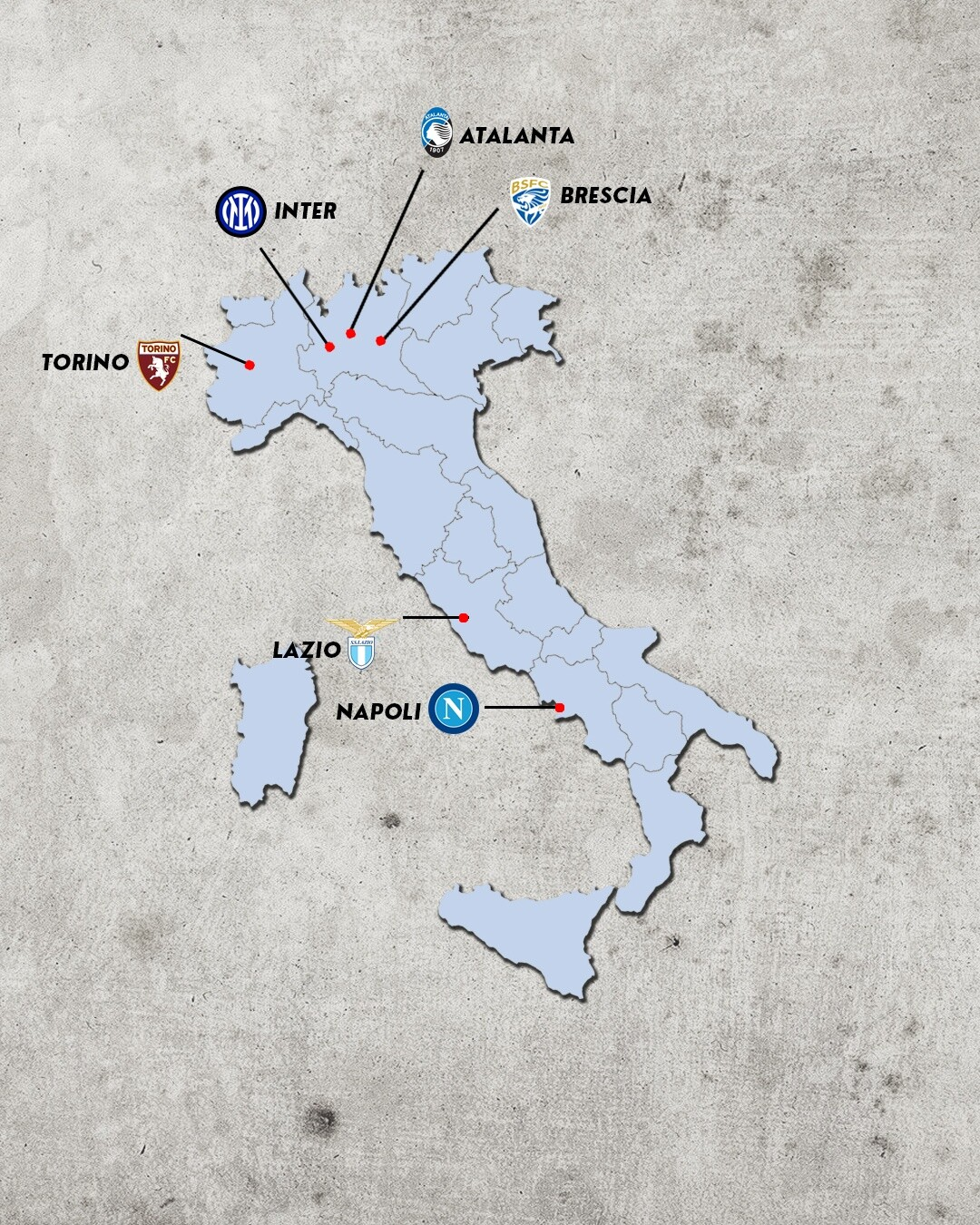 rivalidades do campeonato italiano - rivais da atalanta