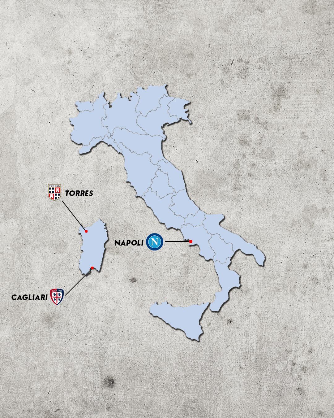 rivalidades do campeonato italiano - rivais do cagliari
