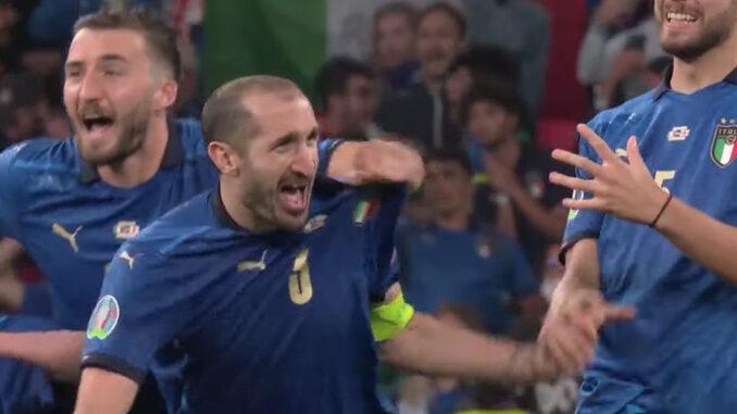 Itália recorde 36 jogos sem perder
