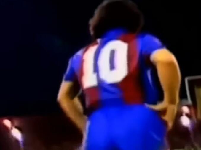 Maradona no Napoli - começo no Barcelona
