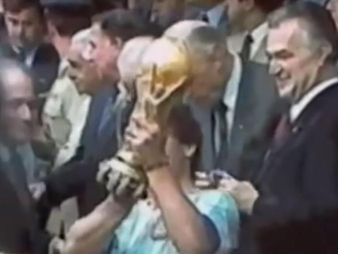 Maradona no Napoli - copa mundo argentina 1986