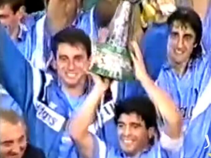 Maradona no Napoli - segundo scudetto