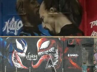 Mural San Siro Venom Carnage