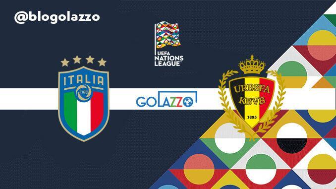 assistir itália belgica ao vivo nations league